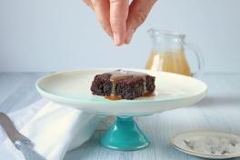 Brownie Azuki - Caramelo salgado