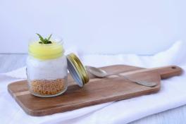 Cheesecake Sesamo e Limão - Ajitama