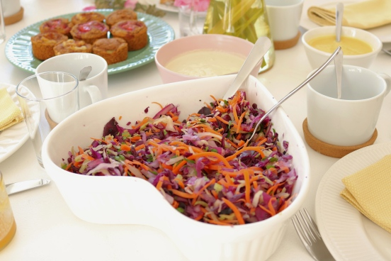 Salada couve massajada